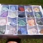Big Box Set of 20 Assorted Minerals Rocks