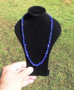 Blue Chip Lapis Lazuli Necklace 46cm